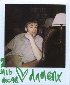 Damon Albarn on We Heart It Damon Albarn, Gorillaz, Blur Band, Mazzy Star, All Bran, Just Deal With It, Def Not, Jamie Hewlett, British Boys