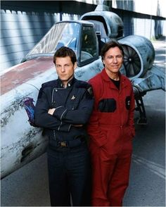 Apollo old and new. Just started re-watching the original BSG :)