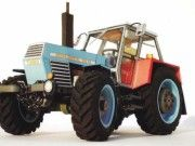 Zetor Crystal 12045 Tractor Free Vehicle Paper Model Download