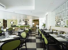 Red Design Group worked with Guillaume Brahimi and Crown for a second time to bring the renowned chef's signature Bistro Guillaume to Perth. The Perth Bistro Guillaume is situated in Red Design, French Provincial, Cafe Restaurant, Perth, Interior Inspiration, Crown, Modern, Table, Restaurants