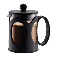 KENYA Coffee maker, 4 cup, 0.5 l, 17 oz, US Black