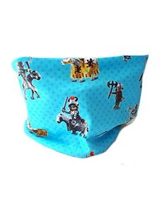 5d63934f5e5d Snood réversible garçon polaire bleu ciel coton, tour de cou doublé ...