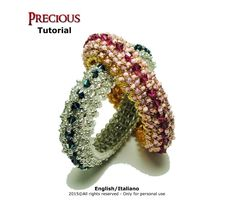 Looking for your next project? You're going to love Tutorial Precious Bangle by designer Fucsia Style.