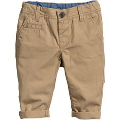 H&M Chinos $6 ($6) ❤ liked on Polyvore featuring baby, kids, kids clothing, boys and baby clothes