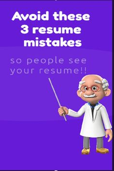 When people think of resume design, most of what they know is out-of-date. Some of the resume tips being given no longer valid and will hurt. Avoid these 3 crucial and common mistakes and your resume skills will already be better than most. Click the link to learn even more. Resume Skills, Resume Tips, Interview Techniques, Job Hunting Tips, Best Careers, Career Coach, Private Sector, Marketing Jobs, Resume Design