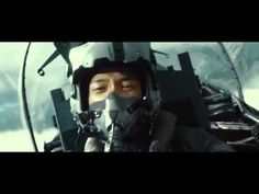 """Here we have our rebel Black Eagle """"TaeHoon"""" not only pulling the CRAZY air show stunt that gets his butt in a sling with the Brass, but doing a fly-by on the tower without permission. That boy loves trouble! LOL! And we love this trailer. ^@@^ [Main Trailer] Rain's K-Movie 2012 - R2B; Return to Base / Credit: CJ Entertainment"""