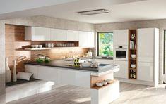 DanKuchen kuhinje - Silbermond moderna kuhinja