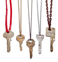 "Giving keys: These vintage keys are stamped with words like ""love,"" ""hope,"" and ""strength."" The idea is to give the key away to a new wearer in need of the message. If random acts of kindness are her modus operandi, this gift shows you appreciate all the thoughtful things she does for others."