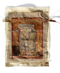 mixed media collage by Christelle Hervieu