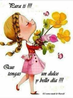 Maquillada Tutorial and Ideas Wish In Spanish, Hello In Spanish, Good Morning Good Night, Good Morning Wishes, Good Morning Quotes, Hug Quotes, Daily Quotes, E Quad, Spanish Inspirational Quotes