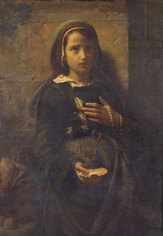 Emile Auguste Hublin, Portretul unei fetite