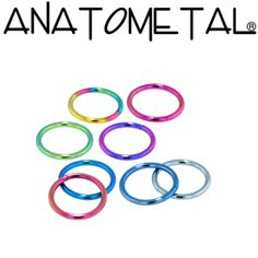 Anatometal: Titanium Seam Ring cheap nose rings