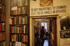 """""""Be not inhospitable to stranger lest they be angels in disguise."""""""
