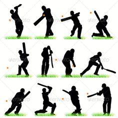 Cricket Players Silhouettes Set  #GraphicRiver         Cricket Players Silhouettes Set     Created: 3August11 GraphicsFilesIncluded: JPGImage #VectorEPS Layered: No MinimumAdobeCSVersion: CS Tags: ball #bat #batsman #catch #championship #competition #contest #cricket #cricketer #exercise #field #glove #helmet #hit #keeper #match #pitch #player #racket #recreation #score #shot #spin #sport #sportsman #strike #strip #swing #team #wicket