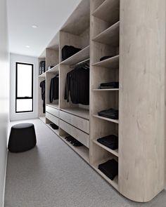 46 Dream Walk In Closet Designs For Organized Home Walk In Robe Designs, Walk In Wardrobe Design, Bedroom Closet Design, Master Bedroom Closet, Closet Designs, Build In Wardrobe, Wardrobe Storage, Shoe Storage, Wardrobe Behind Bed