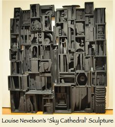 louise nevelson artist at DuckDuckGo Louise Nevelson, Sculpture Projects, Sculpture Art, Rustic Loft, Industrial Loft, Cardboard Sculpture, Cardboard Art, Art Through The Ages, 4th Grade Art