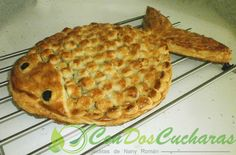 Receta de abadejo en hohaldre | ConDosCucharas.com Pasta, Salmon, Pie, Bread, Desserts, Food, Vegetables, Food Recipes, Steak
