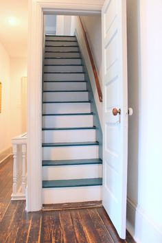 traditional staircase by Sara Bates