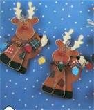 Image detail for -Christmas Wood Craft Pattern Reindeer by SouthcastleVintage