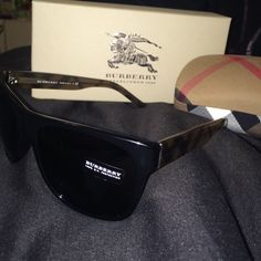 ❗️LOWERED❗️AUTHENTIC BURBERRY SUNGLASSES Amazing Burberry sunglasses! **Never worn**! Basically brand new, bought and never wore. NO SCRATCHES OR ANY DAMAGE!!! Comes in original Burberry box, original Burberry case, and Burberry microfiber cleaning cloth, AND all original certificate of authenticity/ all papers that came with the sunglasses! Burberry Accessories Sunglasses