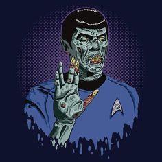star trek zombies   Available at Redbubble , this Star Trek Zombie mash-up is available in ...