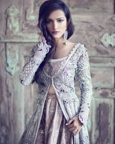 In this post we are going to share latest fashion trends for women and girls for their wedding functions, let's have a look Latest Bridal Dresses 2014 For Women Beauty And Fashion, Asian Fashion, Indian Dresses, Indian Outfits, Moda India, Pretty Dresses, Beautiful Dresses, Dress Up, Looks Cool