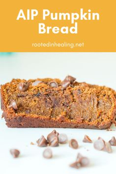 Paleo Autoimmune Pumpkin Bread – Rooted In Healing This paleo autoimmune pumpkin bread is easy to make, vegan, healthy, and has no eggs. It's the perfect allergy friendly, AIP fall treat. Best Keto Bread, Low Carb Bread, Paleo Bread, Pita Bread, Keto Friendly Desserts, Low Carb Desserts, Paleo Dessert, Dessert Recipes, Breakfast Recipes