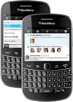 Twitter for BlackBerry phones updated to v4.0, now comes with Discover tab.