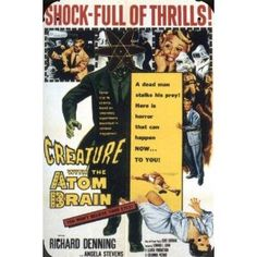 Creature With The Atom Brain - 1955