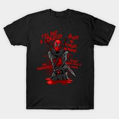 Red Knight T-Shirt - Deadpool T-Shirt is $14 today at TeePublic!