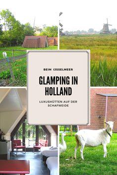 AUF DER SUCHE NACH DEM BESONDEREN URLAUBSERLEBNIS? Bei unseren holländischen Nachbarn findet ihr Luxushütten auf der Schafweide - umgeben von Windmühlen und unweit vom Ijsselmeer, wo ihr mit einem Bötchen hin rudern könnt. Der perfekte Landlust-Urlaub!!