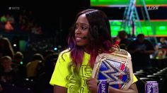 Naomi on the #MITB  Kickoff Show