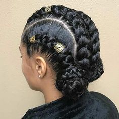 8 Sublime Diy Ideas: Women Hairstyles With Glasses Bangs women hairstyles over 40 casual.Women Hairstyles With Glasses Bangs layered shag hairstyles.Black Women Hairstyles Middle Part. African American Braided Hairstyles, Braided Bun Hairstyles, Braided Hairstyles For Black Women, Feathered Hairstyles, African Hairstyles, Braided Updo, Shag Hairstyles, Updos Hairstyle, Wedding Hairstyles