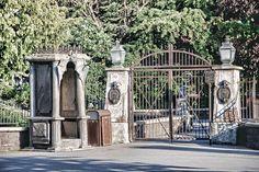 Phantom manor gates.