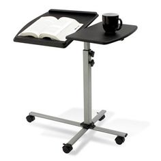 Laptop Reading Table Espresso, $85, now featured on Fab.