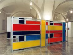 Liam Gillick, Retraction Screen   See the best #Art installations in New York at www.artexperience...
