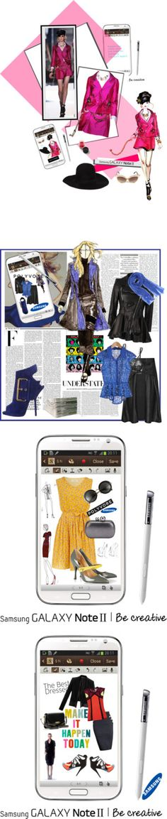 """Downtown Muse: Samsung Galaxy"" by belldraw ❤ liked on Polyvore"