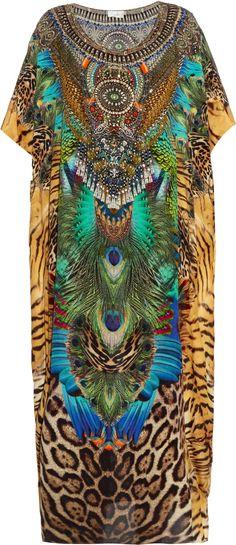 Camilla Franks Roar of the Wild silk kaftan.