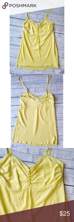 Beth Bowley Cami Never worn, nontag, but spare button is attached in a bag Cotton  14.5 inches from armpit to armpit 32 inches long Beth Bowley Tops Camisoles