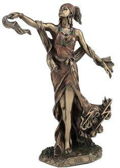 "Bronze Finish ""OYA"" African Goddess Orisha Statue Yoruba Santeria - The African Goddess of transformation, wind, and storms Oya Goddess, Goddess Art, Isis Goddess, African Mythology, African Goddess, Egyptian Mythology, Wicca, Magick, Witchcraft"