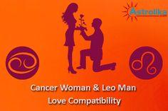 Aquarius male cancer female