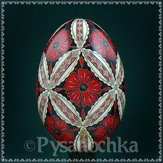 Real Ukrainian Pysanky. Goose Pysanka. Hand made HQ from Roman. Easter Egg