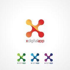 digital molecule logo - Google Search