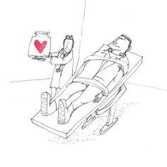 The Secret Life of Love. Day #261. #happyhalloween #sketch #sketchaday #illustration