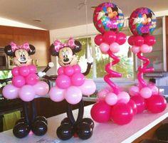 Cathy Olson - Balloon Artist, balloon twisting ent | Minnie Mouse ...