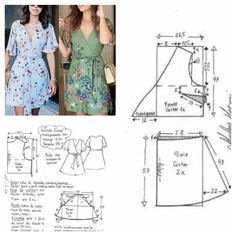 Prodigious Sewing Make Your Own Clothes Ideas Summer Dress Patterns, Dress Sewing Patterns, Sewing Patterns Free, Sewing Tutorials, Clothing Patterns, Fashion Sewing, Diy Fashion, Sewing Blouses, Do It Yourself Fashion