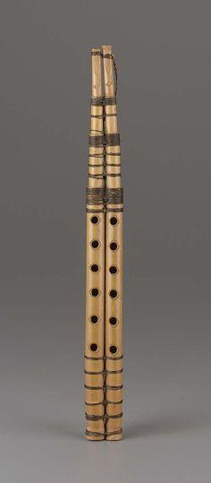 Double clarinet (zummara) | Museum of Fine Arts, Boston