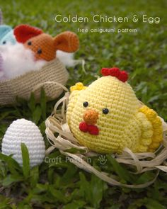 Cuteness overload Golden Chicken Amigurumi, come with an egg amigurumi pattern. Free amigurumi crochet pattern for you to make as gift or for own collection – Page 2 of 2
