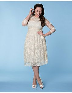 Start your happily ever after in our Aurora Lace Wedding Dress. A ruched waist and A-line skirt will keep you comfortable and flatter every curve. This dress features a nude mesh lining to help hide bra straps while the soft scalloped lace offers a classic feminine feel on your big day. sonsi.com