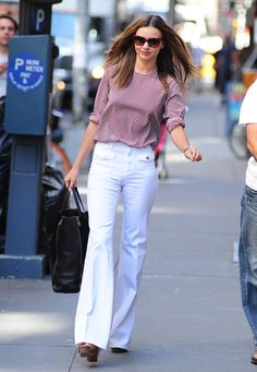 Pin for Later: How to Find the Best White Jeans For Your Body Keep Them Sparkling.